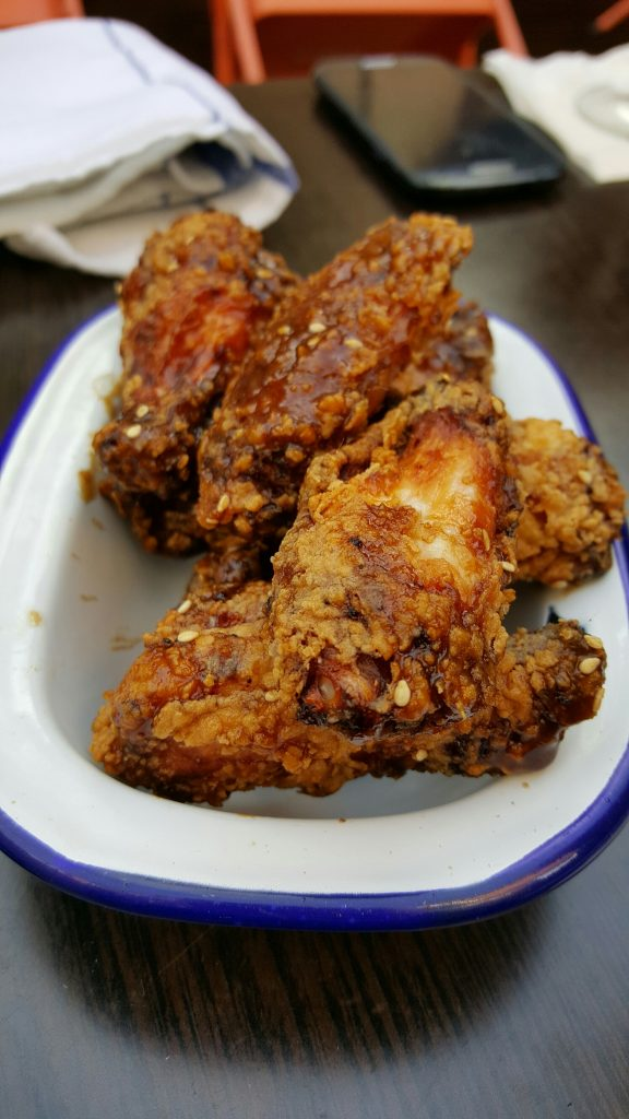 Chicken Wings - Korean Hot Sauce - Toasted Sesame