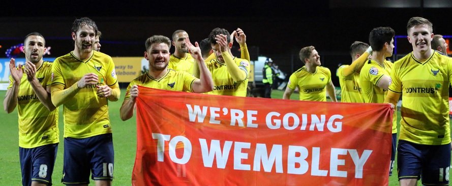 oxford united wembley