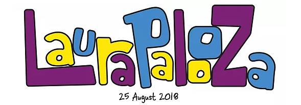 Laurapalooza Logo
